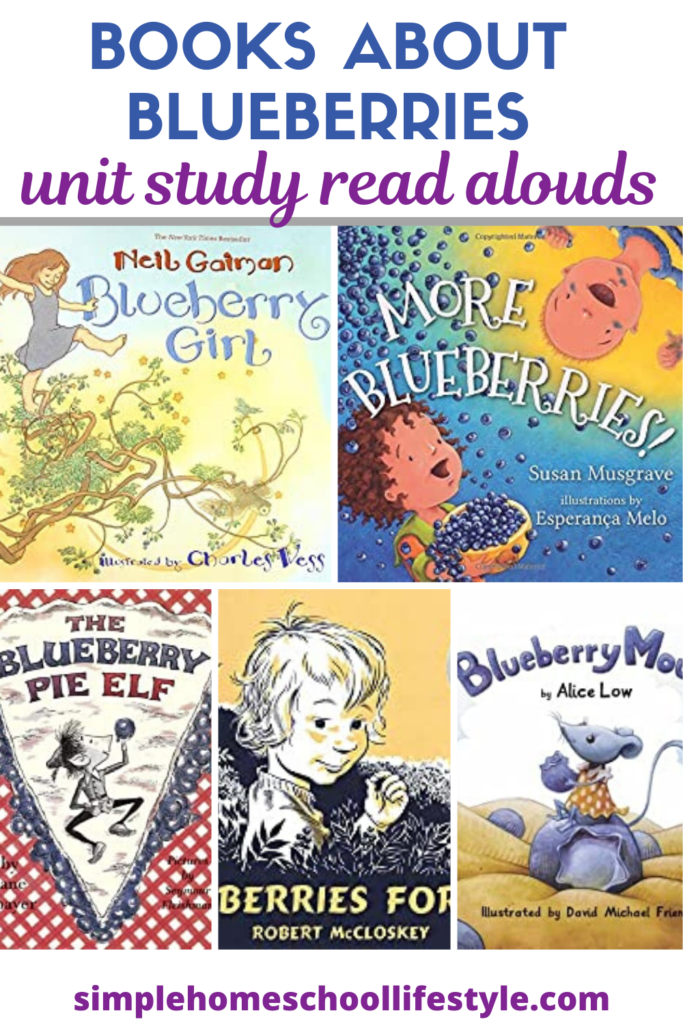 books about blueberries McCloskey Blueberries for Sal Summary homeschool