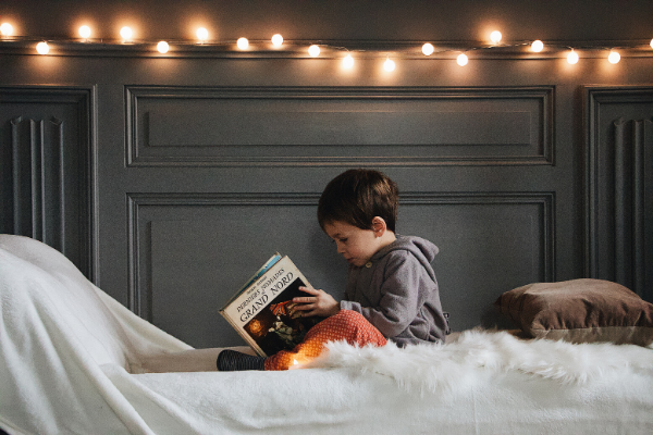 cozy reading nook kids homeschool