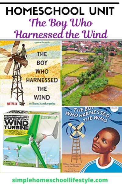 the boy who harnessed the wind homeschool unit