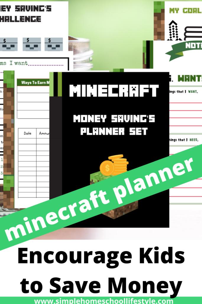 Minecraft Money Saving Planner