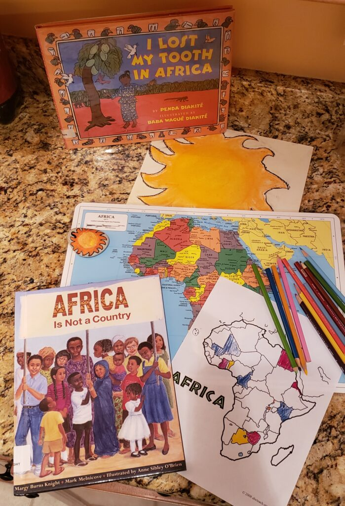 Africa Facts for Kids Homeschooling