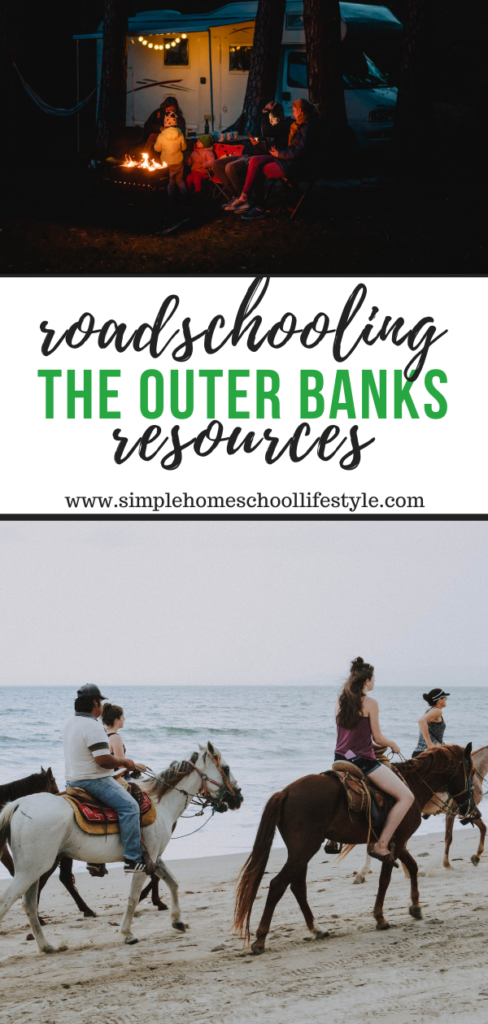outer banks family vacation roadschooling